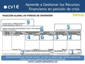 Ejemplo Extracto Fondo Inversión CV1E