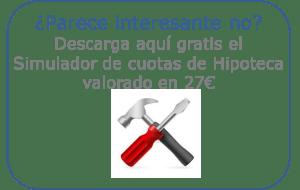 Simulador Cuota Hipoteca CV1E