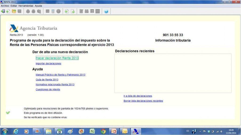 Hacerdec 1024x576 - Tu declaración de la renta por internet en 6 pasos con el Programa Padre