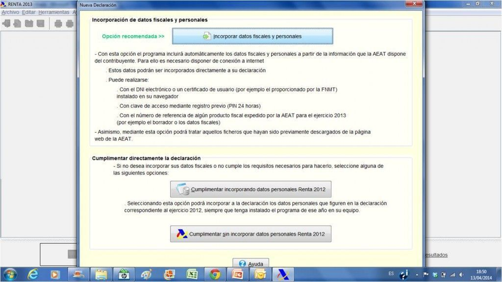 Incorporar datos 1024x576 - Tu declaración de la renta por internet en 6 pasos con el Programa Padre