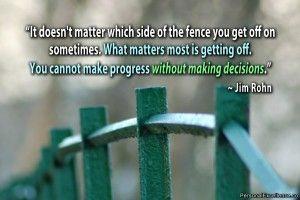 ejecutar tu decisión de forma impecable