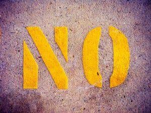 Aprende a decir no por defecto