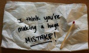 Los 7 errores que harán fracasar tu negocio