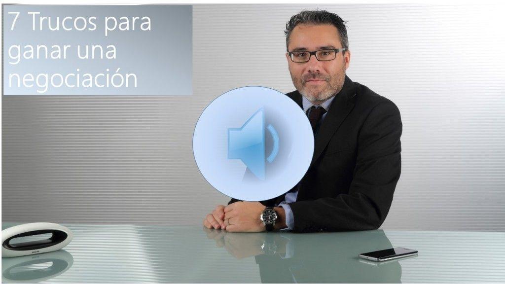 Audio Cuanto Vale Un Euro: 7 Trucos para ganar una negociación