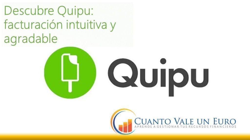 quipu facturación intuitiva y agradable