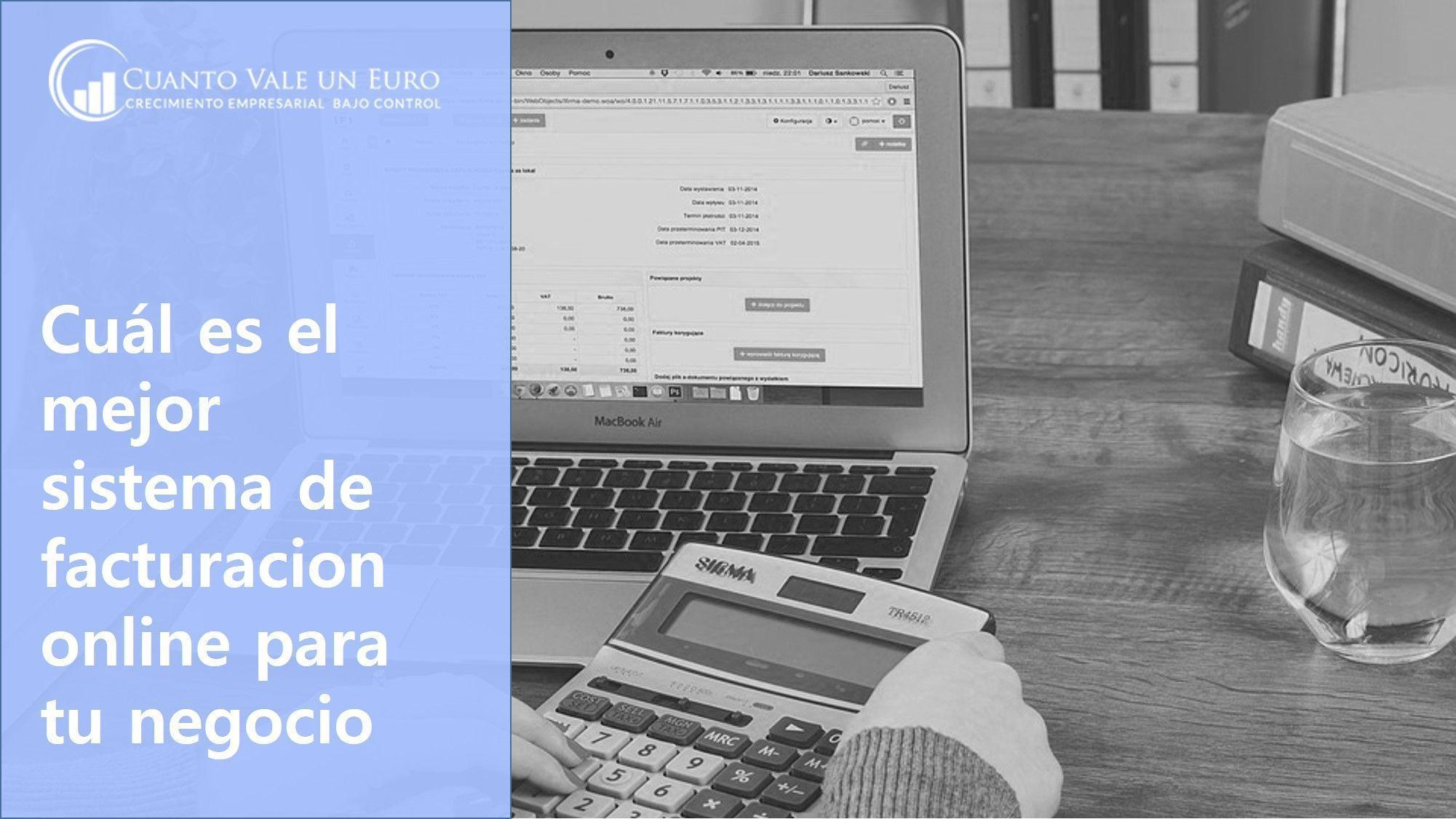 Cuál es el mejor sistema de facturacion online para tu negocio